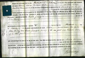 Deed by Married Women - Susan Gascoyne Hurry-Original Ancestry