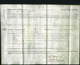 Deed by Married Women - Charlotte Harrington-Original Ancestry