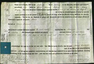 Deed by Married Women - Maria Cresswell-Original Ancestry