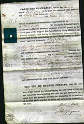 Deed by Married Women - Elizabeth Gunter-Original Ancestry