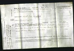 Deed by Married Women - Sarah Trist Dowglasse-Original Ancestry