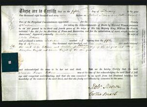 Deed by Married Women - Isabella Pearson Pattison-Original Ancestry