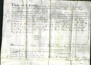 Deed by Married Women - Elizabeth Fortune Mary Vaughan-Original Ancestry