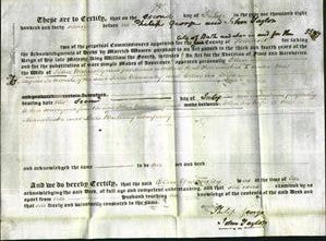 Deed by Married Women - Ellen Walmesley-Original Ancestry