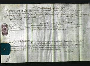 Deed by Married Women - Elizabeth Mary Anderson-Original Ancestry