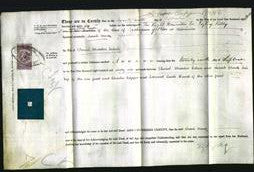 Deed by Married Women - Sarah Anne Cohen-Original Ancestry