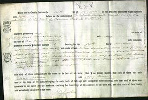 Deed by Married Women - Mary Nicholson and Mary Binfield-Original Ancestry