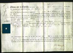 Deed by Married Women - Mary Cook-Original Ancestry