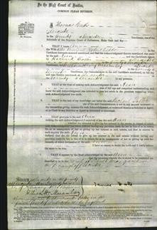 Court of Common Pleas - Ann Seddon-Original Ancestry