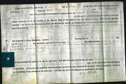 Deed by Married Women - Harriet Matilda Bulkel-Original Ancestry
