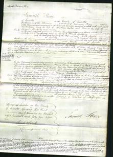 Court of Common Pleas - Amy Curtis and Eleanor Hackney-Original Ancestry