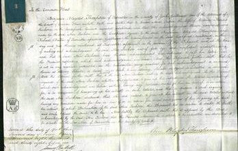 Court of Common Pleas - Ann Jackson-Original Ancestry