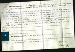 Deed by Married Women - Ann Nicklinson-Original Ancestry
