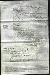 Court of Common Pleas - Ann Nicklinson-Original Ancestry
