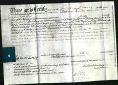 Deed by Married Women - Charlotte Watkinson-Original Ancestry