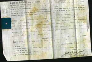 Deed by Married Women - Mary Ann Snelson-Original Ancestry