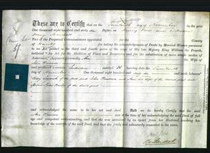 Deed by Married Women - Ann Harrison-Original Ancestry