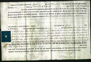 Deed by Married Women - Jane Elizabeth Robinson-Original Ancestry