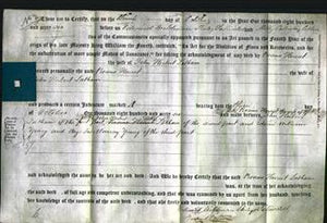 Deed by Married Women - Rosina Harriet Latham-Original Ancestry
