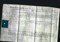 Deed by Married Women - Sarah Townsend-Original Ancestry