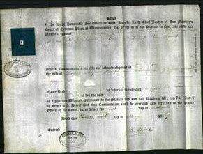 Appointment of Special Commisioners - John Black Dill, William Fleming-Original Ancestry