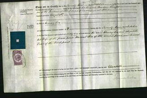 Deed by Married Women - Elizabeth Cox-Original Ancestry