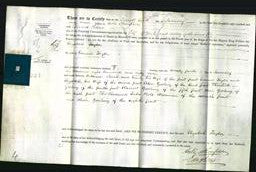 Deed by Married Women - Elizabeth Taylor-Original Ancestry