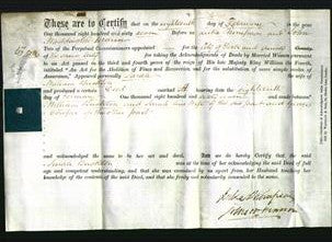 Deed by Married Women - Sarah Buckton-Original Ancestry