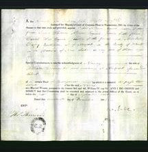 Appointment of special commissioners - John Allison, James Whidden Allison and Mark Trepry-Original Ancestry