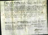 Deed by Married Women - Elizabeth Bennett-Original Ancestry