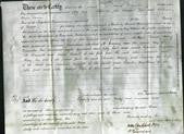 Deed by Married Women - Mary Lerscombe and Jemima Harvey-Original Ancestry