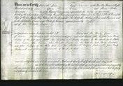 Deed by Married Women - Elizabeth Mayson-Original Ancestry
