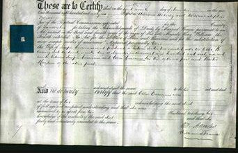 Deed by Married Women - Ellen Erasimus-Original Ancestry