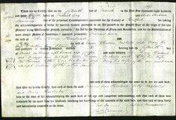 Deed by Married Women - Frances Ann Hewland, Kitty Nicholls and Mary Pembert-Original Ancestry
