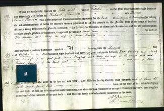 Deed by Married Women - Sarah Jane Clubley and Mary Hayton-Original Ancestry