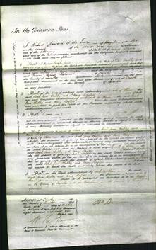Court of Common Pleas - Sarah Jane Clubley and Mary Hayton-Original Ancestry
