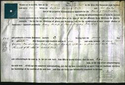 Deed by Married Women - Mary Marshall-Original Ancestry