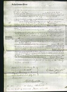 Court of Common Pleas - Harriet Smith-Original Ancestry