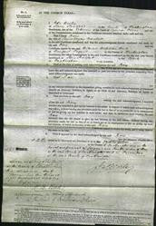 Court of Common Pleas - Mary Marshall-Original Ancestry