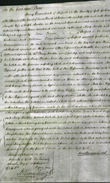 Court of Common Pleas - Mary Machin-Original Ancestry
