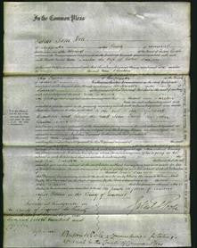 Court of Common Pleas - Ann Durston-Original Ancestry