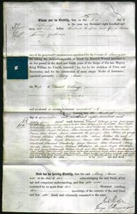 Deed by Married Women - Marry Anne Collinge-Original Ancestry