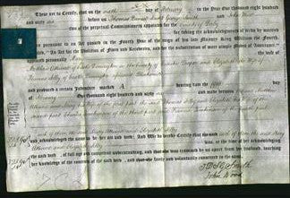 Deed by Married Women - Mary Attwood and Elizabeth Selby-Original Ancestry