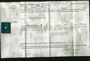 Deed by Married Women - Lucy Robinson-Original Ancestry