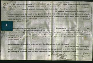 Deed by Married Women - Ann Lownds Wooliscroft-Original Ancestry
