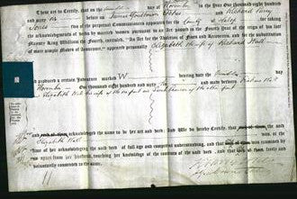 Deed by Married Women - Elizabeth Wall-Original Ancestry