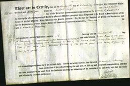 Deed by Married Women - Hannah Whalley-Original Ancestry