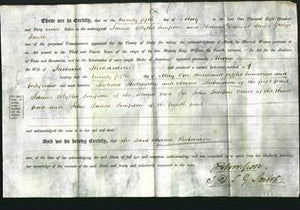 Deed by Married Women - Maria Richardson-Original Ancestry