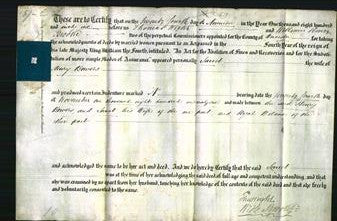 Deed by Married Women - Jane Bowers-Original Ancestry