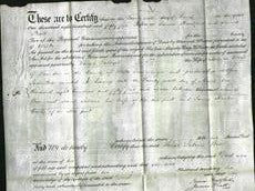 Deed by Married Women - Sarah Salome Wise-Original Ancestry